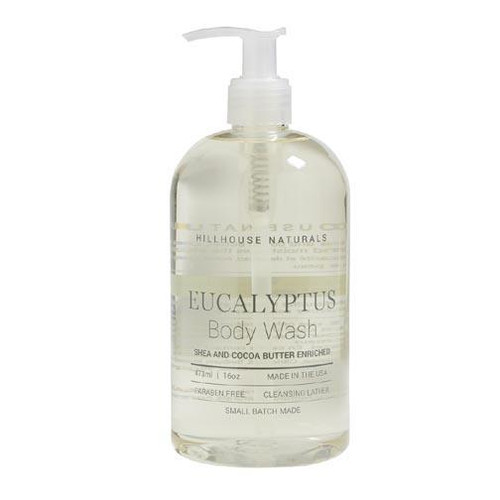 Hillhouse Naturals Body Wash 16 Oz. - Eucalyptus