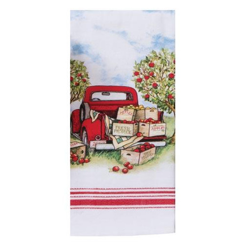 Kay Dee Designs Dual Purpose Towel - Apple Picking Truck