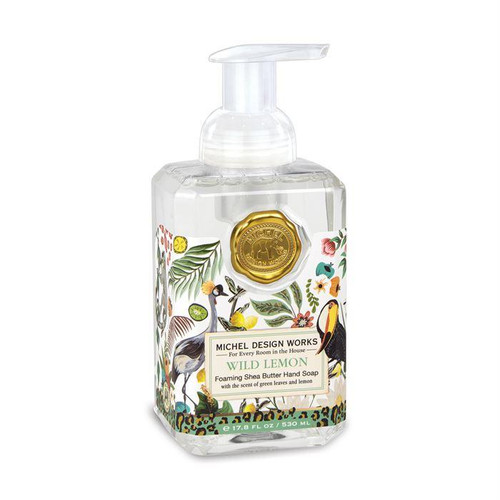 Michel Design Works Foaming Shea Butter Hand Soap 17.8 Oz. - Wild Lemon