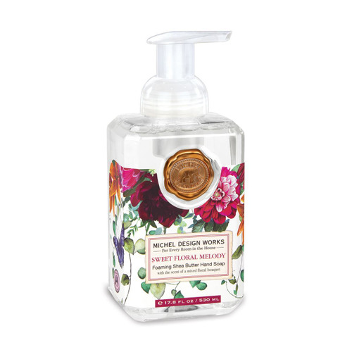 Michel Design Works Foaming Shea Butter Hand Soap 17.8 Oz. - Sweet Floral Melody