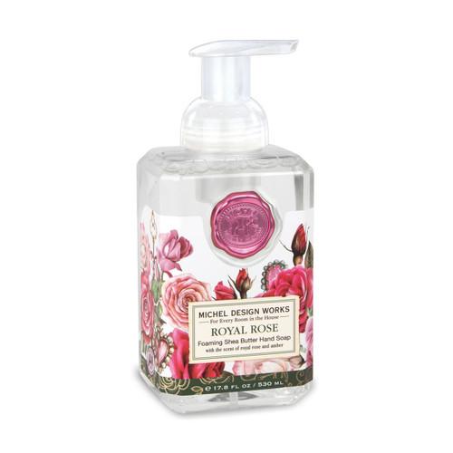 Michel Design Works Foaming Shea Butter Hand Soap 17.8 Oz. - Royal Rose