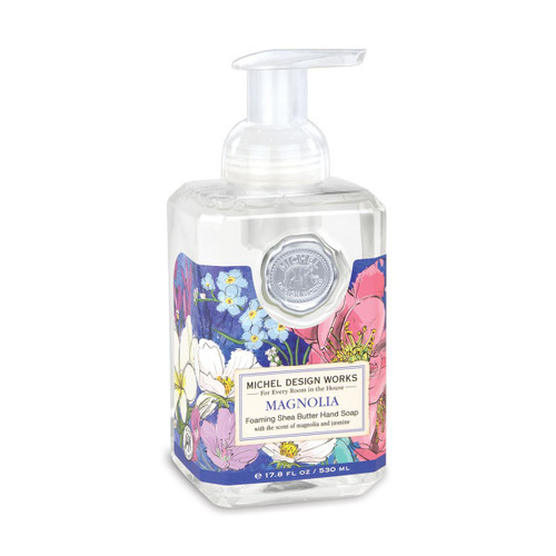 Michel Design Works Foaming Shea Butter Hand Soap 17.8 Oz. - Magnolia
