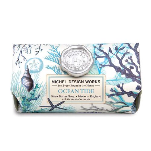 Michel Design Works Bath Soap Bar 9 Oz. - Ocean Tide