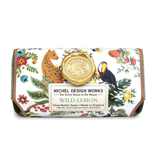 Michel Design Works Bath Soap Bar 9 Oz. - Wild Lemon