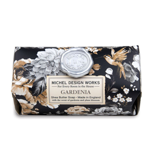 Michel Design Works Bath Soap Bar 9 Oz. - Gardenia