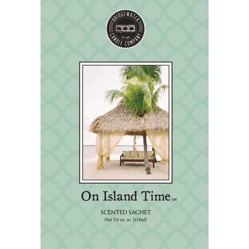 Bridgewater Candle Scented Sachet - On Island Time