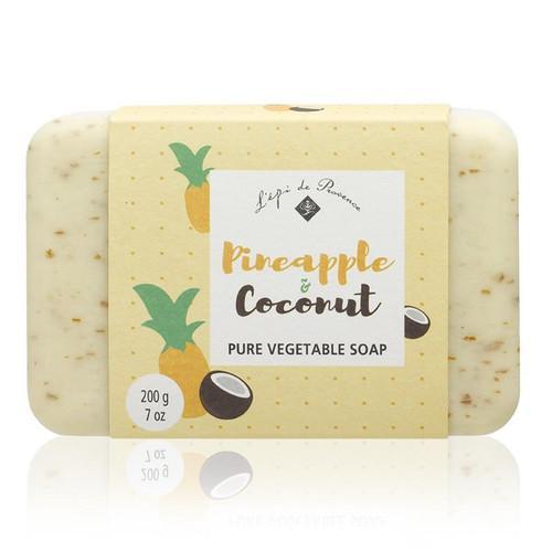 L'epi de Provence Soap 200g - Pineapple & Coconut
