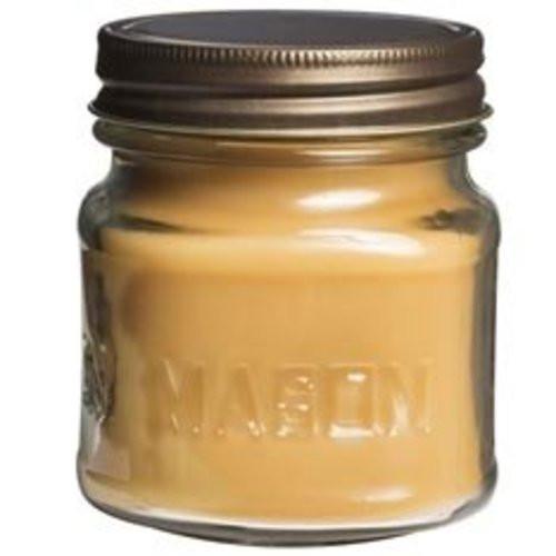 Scentations Mason Jar Candle 8.5 Oz. - Papaya Bamboo