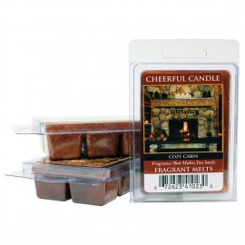Keepers of the Light Cheerful Candle Fragrant Melts - Cozy Cabin
