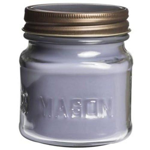 Scentations Mason Jar Candle 8.5 Oz. - White Linen