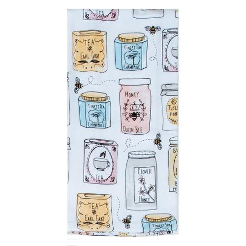 Kay Dee Designs Tea Towel - Bee Inspired Jars