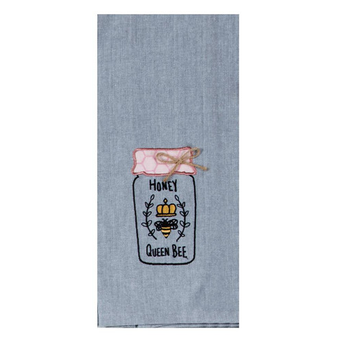 Kay Dee Designs Tea Towel - Bee Inspired Embroidered