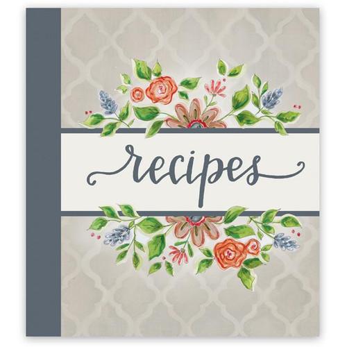 Brownlow Gifts Recipe Binder - Lattice Floral