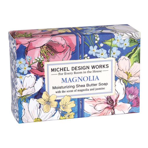Michel Design Works Boxed Single Soap 4.5 Oz. - Magnolia
