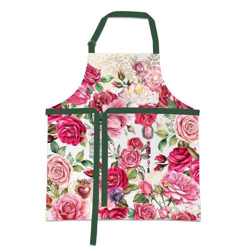 Michel Design Works Chef Apron - Royal Rose