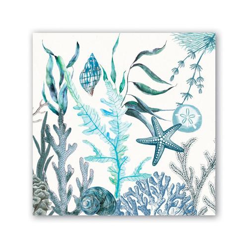 Michel Design Works Paper Luncheon Napkins - Ocean Tide