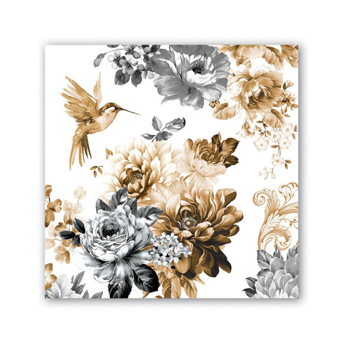 Michel Design Works Paper Luncheon Napkins - Gardenia