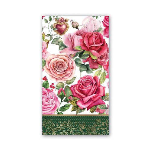 Michel Design Works Paper Hostess Napkins - Royal Rose