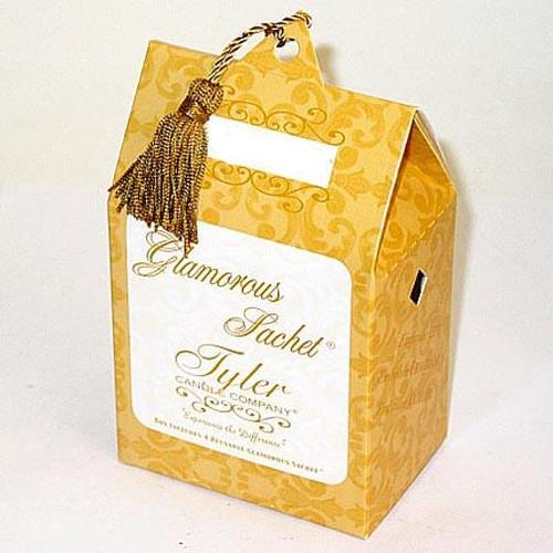 Tyler Candle Glamorous Sachet Box of 4 - Fleur de Lis