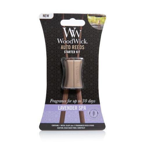 Woodwick Auto Reeds Starter Kit - Lavender Spa