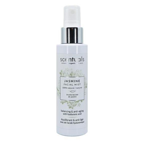 Scentuals 100% Natural Facial Mist 4 Oz. - Jasmine