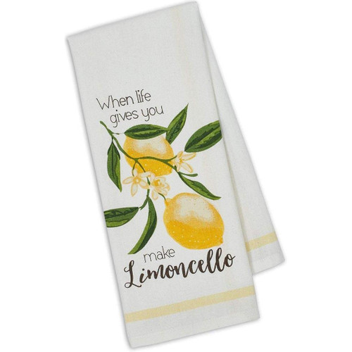 Design Imports Kitchen Towel - Make Limoncello