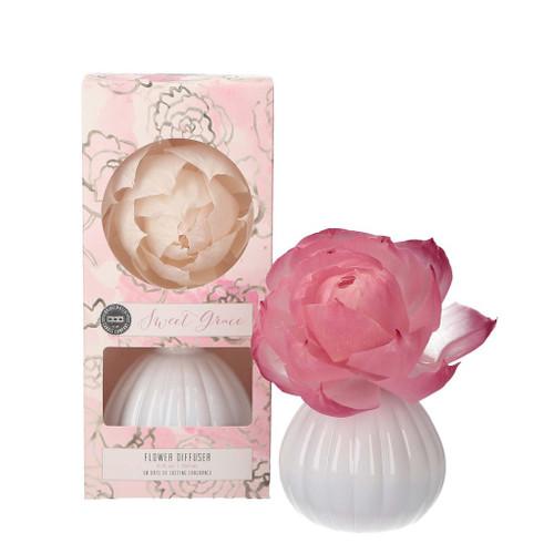 Bridgewater Candle Flower Diffuser 8 Oz. - Sweet Grace