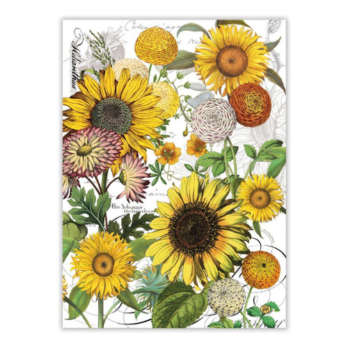 Michel Design Works Kitchen Towel - Sunflower
