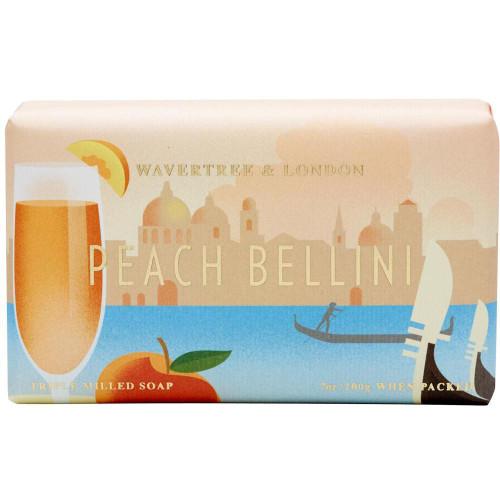Australian Soapworks Wavertree & London 200g Soap - Peach Bellini