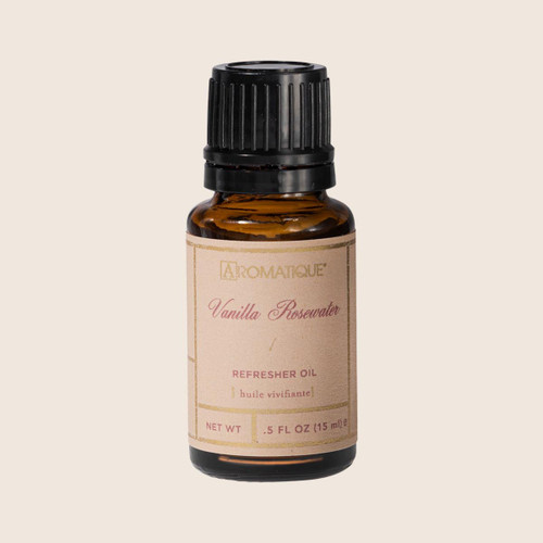 Aromatique Refresher Oil 0.5 Oz. - Vanilla Rosewater