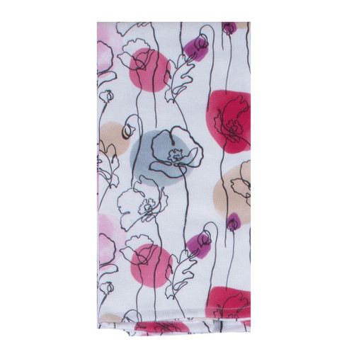 Kay Dee Designs Dual Purpose Towel - Think Pink Floral