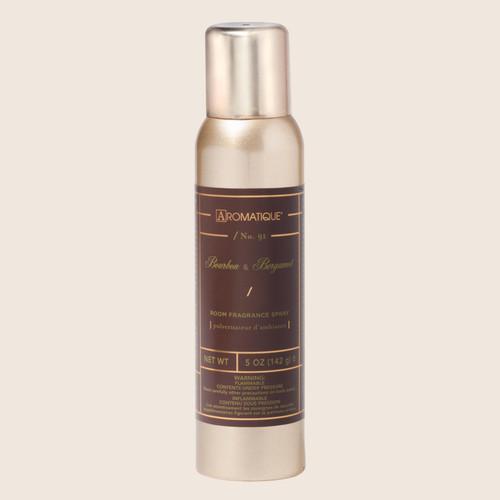 Aromatique Room Spray 5 Oz. - Bourbon & Bergamot