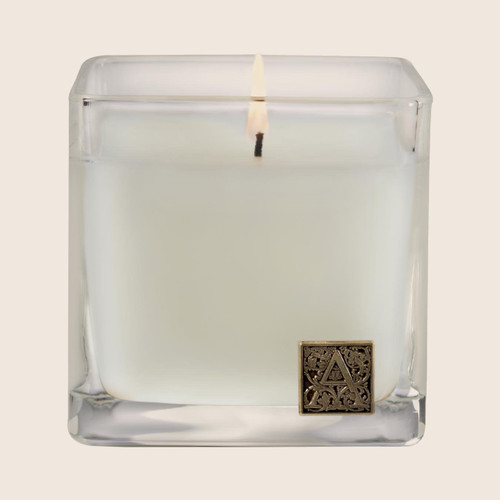 Aromatique Cube Glass Candle 12 Oz. - The Smell of Gardenia