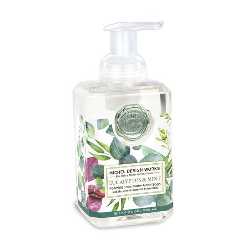 Michel Design Works Foaming Shea Butter Hand Soap 17.8 Oz. - Eucalyptus & Mint