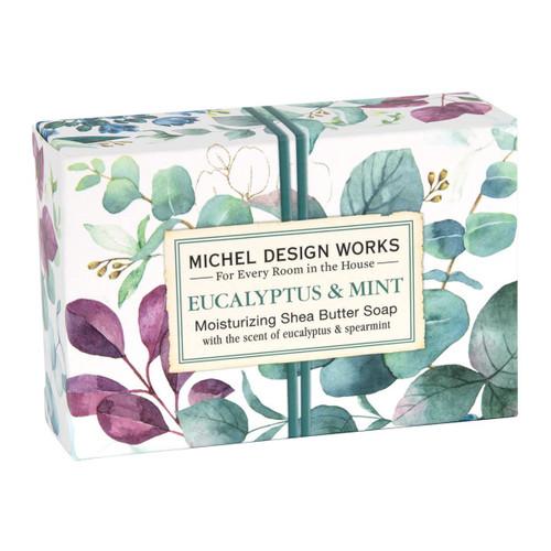 Michel Design Works Boxed Single Soap 4.5 Oz. - Eucalyptus & Mint