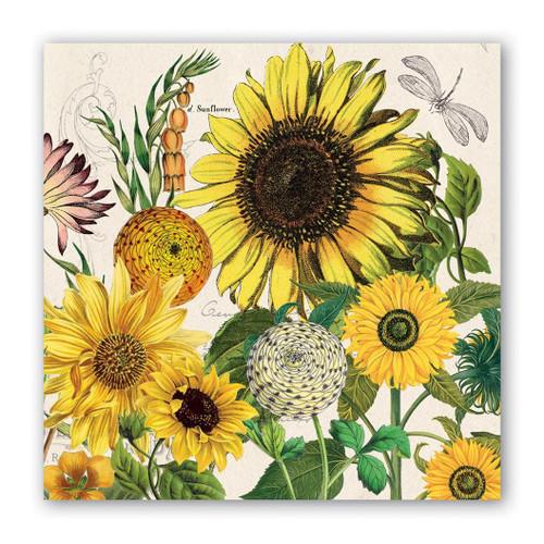 Michel Design Works Paper Cocktail Napkins - Sunflower