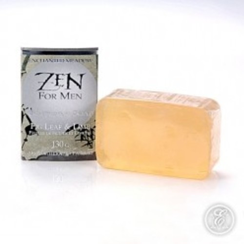 Enchanted Meadow Zen for Men Soap in Wrap 4.5 oz. - Fig Leaf & Lime