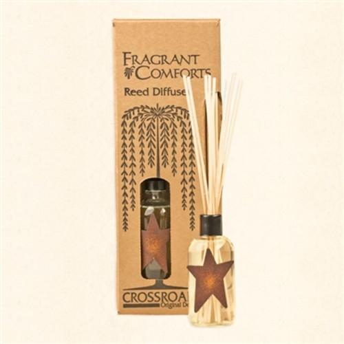 Crossroads Reed Diffuser 4 Oz. - Cinnamon Bun