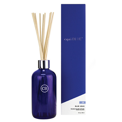 Capri Blue Reed Diffuser 8 Oz. - Blue Jean