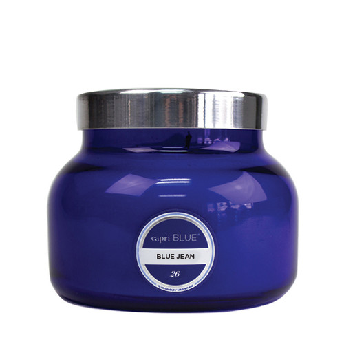 Capri Blue Signature Jar 19 Oz. - Blue Jean