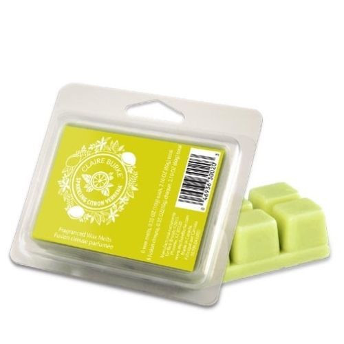 Claire Burke Wax Melts 2.1 Oz. - Sparkling Citron Verbena