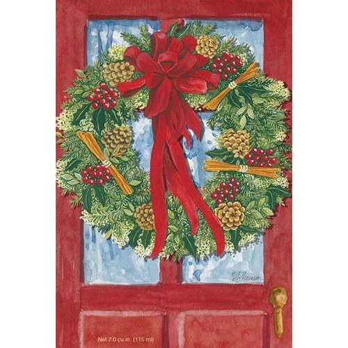 Willowbrook Fresh Scents Scented Sachet - Red Door Wreath