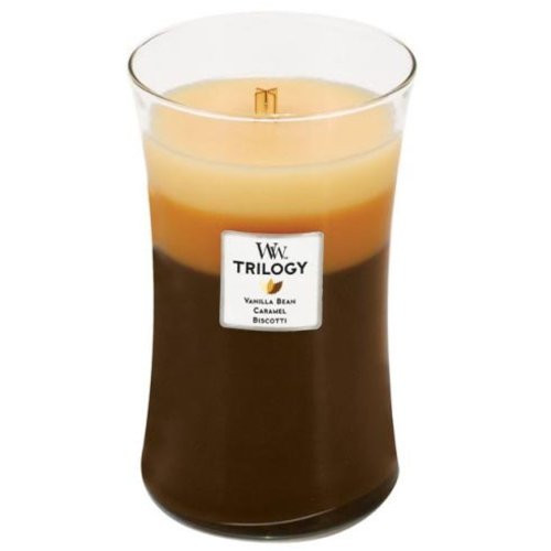 WoodWick Trilogy 22 Oz. Candle - Cafe Sweets