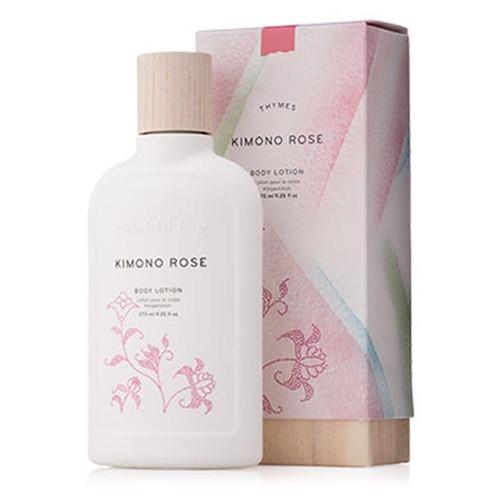 Thymes Body Lotion 9.25. oz. - Kimono Rose