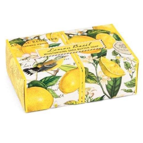 Michel Design Works Boxed Single Soap 4 5 Oz Lemon