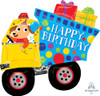 "31"" Happy Birthday Dog and Dumptruck 生日泥土車"