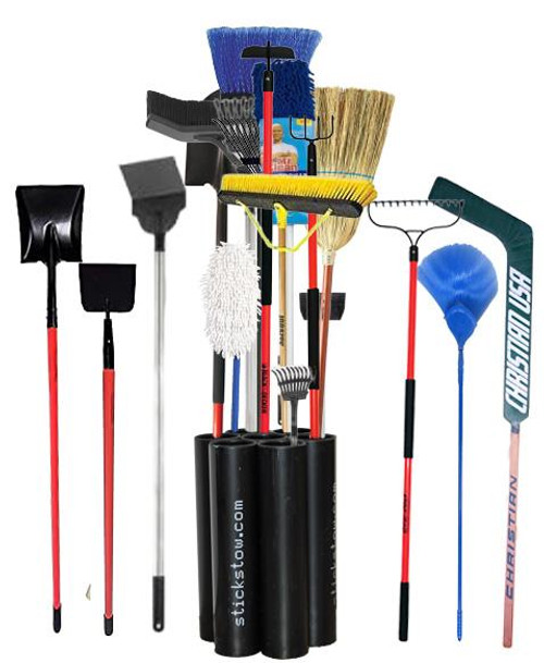 The Multi-Tasker Stickstow Rakes Shovels brooms and beyond...