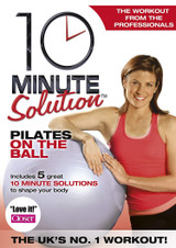 10 Minute Solution: Pilates On the Ball (Normal) [DVD] [DVD / Normal]