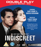 Indiscreet (1958) (with Blu-ray (Collector's Edition) - Double Play) [DVD] [DVD / with Blu-ray (Collector's Edition) - Double Play]