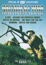 The War File: Britain at War - Our Finest Hours (Box Set) [DVD]